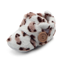 Toddler's First Botton Slippers