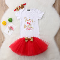 "Baby Girl ""It's My Birthday"" Shirt & Glitter Headband Set"