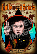 Halloween Saints Series 2: Dani & Binx Art Print (Color and Black & White)