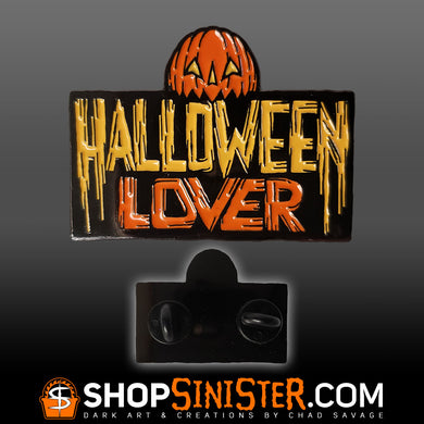 Halloween Lover Enamel Lapel Pin