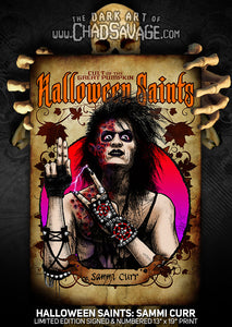 Halloween Saints: Sammi Curr Art Print