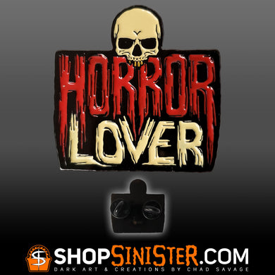Horror Lover Enamel Lapel Pin