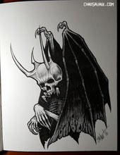 Infernal Original Drawing