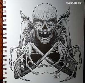 Necromancer Original Drawing