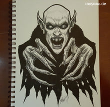 Nosfera-tude Original Vampire Drawing