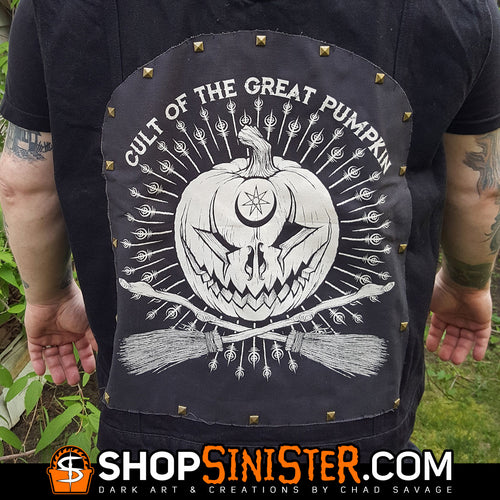 Cult of the Great Pumpkin Punk Rock Back Patch