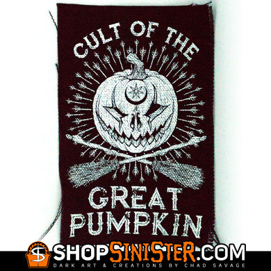 Cult of the Great Pumpkin Canvas Patch