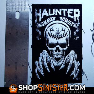 HAUNTER Canvas Patch