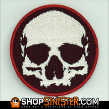 Skull Circle Patch