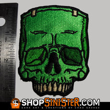 Monster Skull: The Creature Embroidered Patch