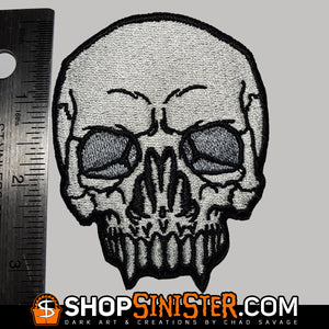 Monster Skull: Nosferatu Embroidered Patch