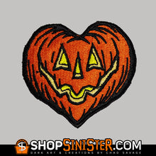 I Love Halloween Embroidered Patch