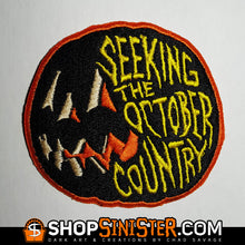 Seeking The October Country Embroidered Patch
