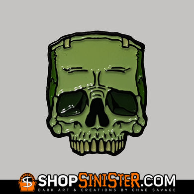 Monster Skull: The Creature Enamel Lapel Pin