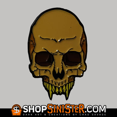 Monster Skull: Lycanthrope Enamel Lapel Pin