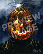 Pumpkinstein's Monster Art Print
