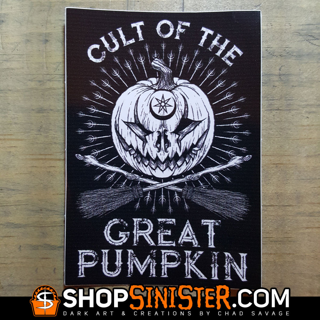 Cult of the Great Pumpkin Vinyl Sticker