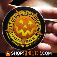 Cult of the Great Pumpkin Logo Sticker