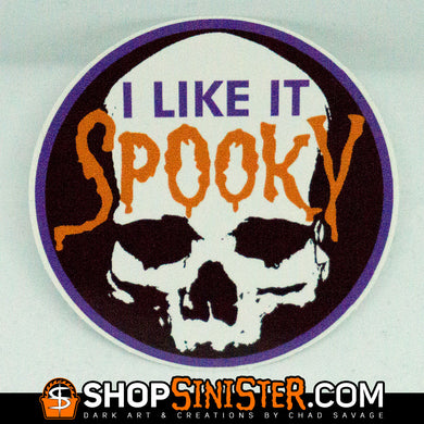 I Like It Spooky Sticker