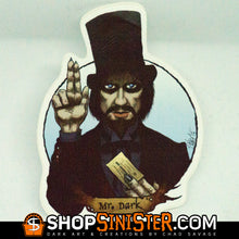 Halloween Saints: Mr. Dark Die Cut Vinyl Sticker
