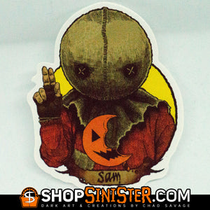 Halloween Saints: Sam Die Cut Vinyl Sticker
