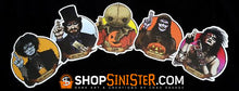 Halloween Saints: All 5 Stickers