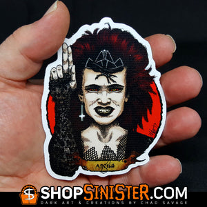 Halloween Saints 2: Angela Die Cut Vinyl Sticker