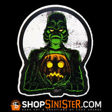 Monster Holiday: Creature Die Cut Vinyl Sticker