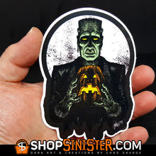Monster Holiday: Monster Die Cut Vinyl Sticker