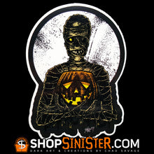 Monster Holiday: Mummy Die Cut Vinyl Sticker