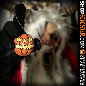HorrorNaments Chad Savage Series: Jack-O-Lantern 2