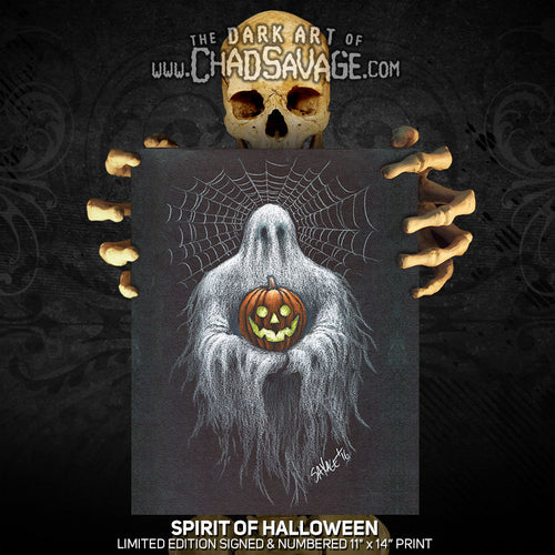 Spirit of Halloween Art Print