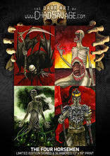 The Four Horsemen Art Print