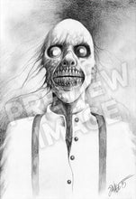 The Thing: Homage to Stephen Gammell Art Print