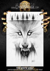 The White Wolf: Homage to Scary Stories to Tell In the Dark