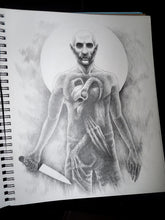 Inner Demons Original Drawing