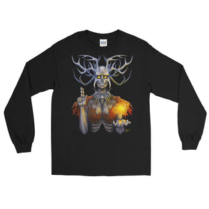 Saint of the Lonely Places Long Sleeve Shirt