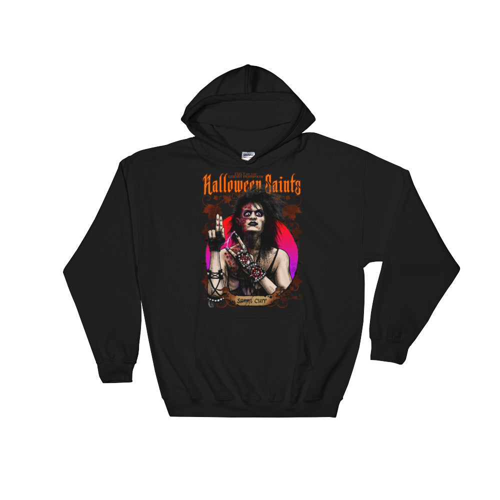 Halloween Saints - Sammi Curr Hooded Sweatshirt
