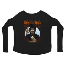 Halloween Saints - Mr. Dark Ladies' Long Sleeve Tee