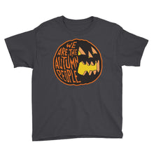 We Are the Autumn People Pumpkin Youth Short Sleeve T-Shirt
