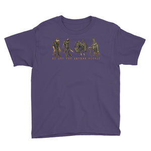 We Are the Autumn People Youth Short Sleeve T-Shirt