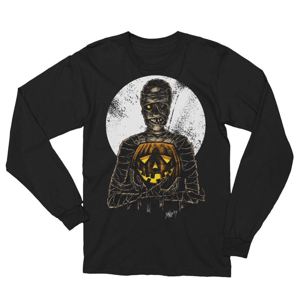 Monster Holiday - Mummy Unisex Long Sleeve T-Shirt
