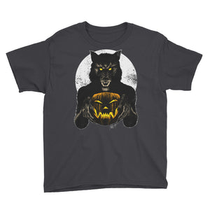 Monster Holiday - Werewolf Youth Short Sleeve T-Shirt