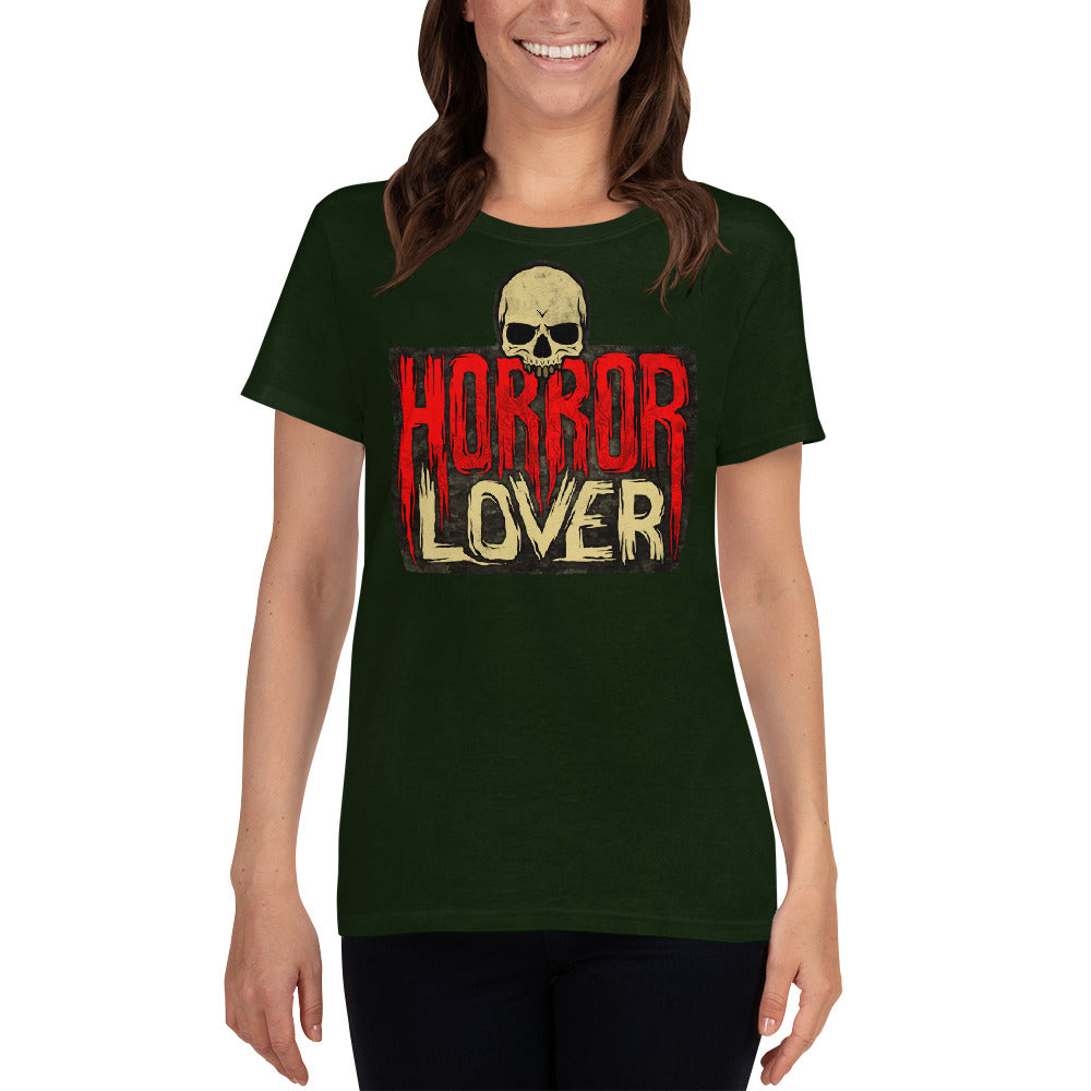 Horror Lover Women's short sleeve t-shirt