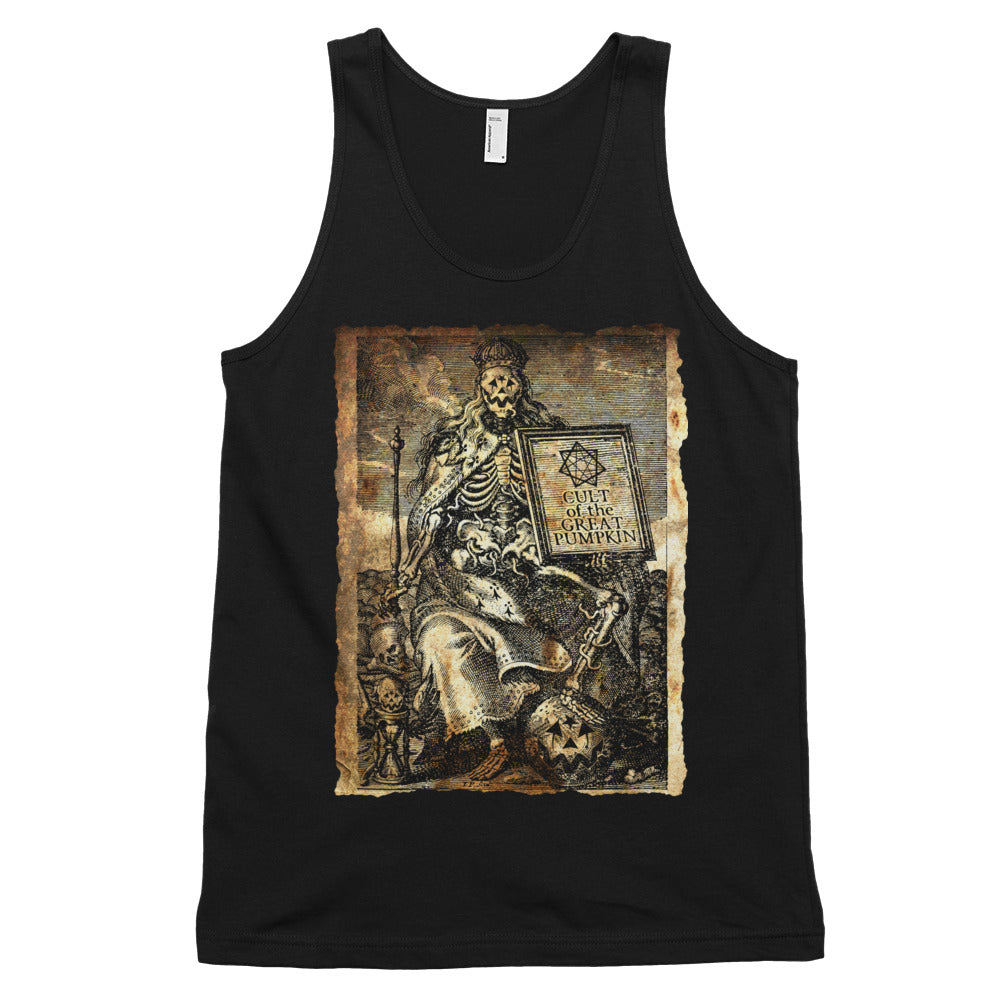 Cult of the Great Pumpkin - Worm King Classic tank top (unisex)