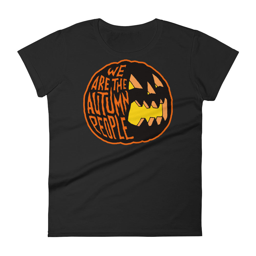 We Are the Autumn People Pumpkin Women's short sleeve t-shirt