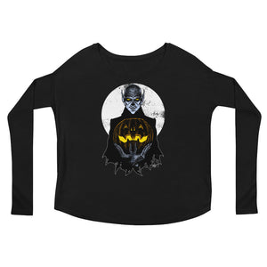 Monster Holiday - Vampire Ladies' Long Sleeve Tee
