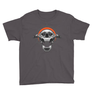 SINISTER SKULLS - Corvus TriSkull Youth Short Sleeve T-Shirt