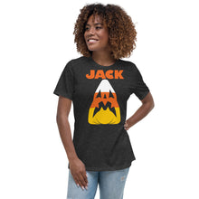 Candy Corn Jack Attack Women's Relaxed T-Shirt