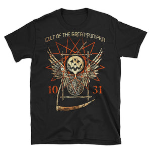Cult of The Great Pumpkin - Thanatos Hourglass Short-Sleeve Unisex T-Shirt